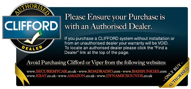 Avoid Purchasing Clifford Or Viper From Unauthorised Dealers
