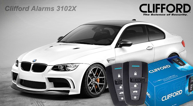 Clifford 3102X Car Alarm Immobiliser