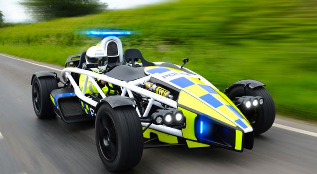 The Ariel Atom Cop Car