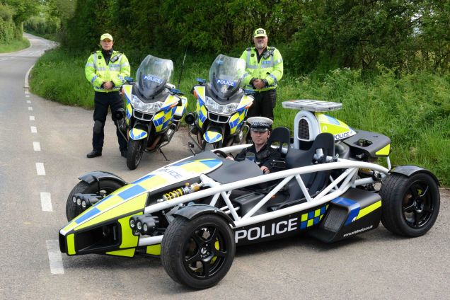 Somerset and Avon Police forces