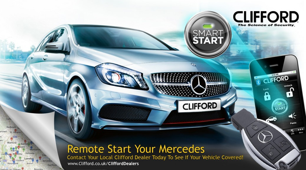 Clifford news car security alarms for Remote start for mercedes benz