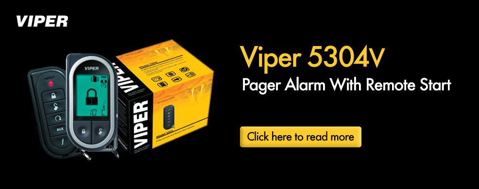 Viper 5304V Pager Alarm With Remote Start