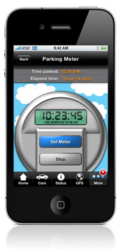 Avoid parking tickets from forgetting to refill the parking meter?